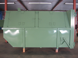 dichte container 2 groen